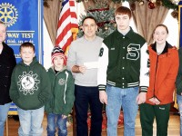 Rotary Wrestling Donation